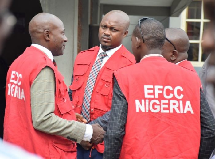 PHOTO! Two Men Bag Six Months Imprisonment For Giving False Info To EFCC Operatives