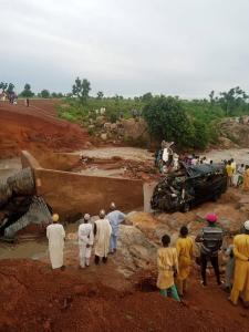 About 21 military recruits have been killed in an accident in Jigawa State. The fatal incident happened after their vehicle submerged in water along the Gwaram/basirka road in Jigawa State.  Police spokesman man ASP Lawan Shiisu Adam confirmed the incident.  He said the military recruits were en route to Gombe State.