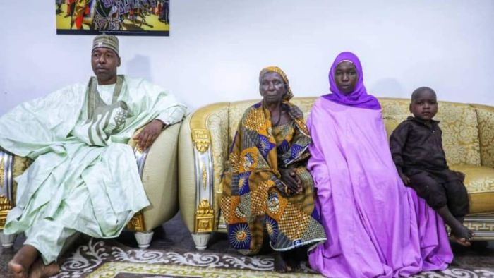 Chibok Girl Returns Home With Two Children After Seven Years In Captivity