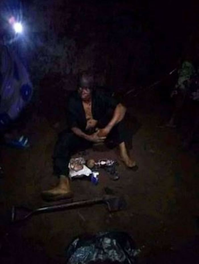 Church Elder Allegedly Nabbed Burying Charms At Village Square In Akwa Ibom