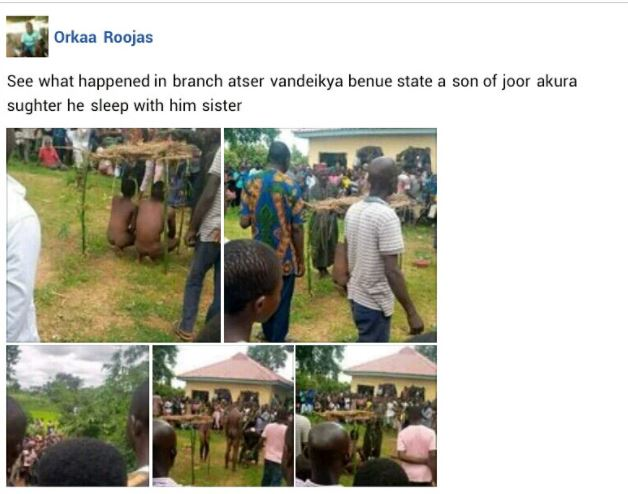 Man Caught Sleeping With His Sister In Benue (Photos) 3