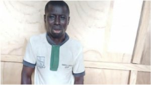 35-Year-Old Fashion Designer Paraded By NSCDC In Ilorin For Allegedly Raping Four-Year-Old Girl (Photo)