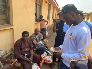 Paschal Offor Visits the Aged Home in Enugu Donates Food Stuffs and Cash 2