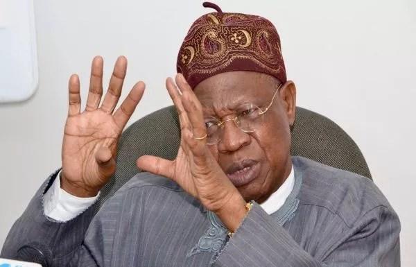 Anti-Buhari Interviews: FG Threatens To Shut Down TV, Radio Stations