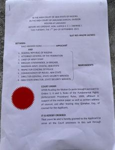 Mazi Nnamdi Kanu Sues Nigerian Government For N5billion Over Health Issues 1