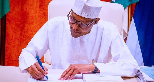 President Buhari Arrives NASS For 2022 Budget Presentation
