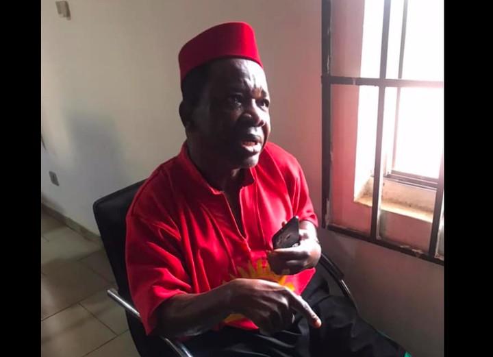 Nigeria Army Gives Reason For Arresting Popular Nigerian Actor Chinwetalu Agu