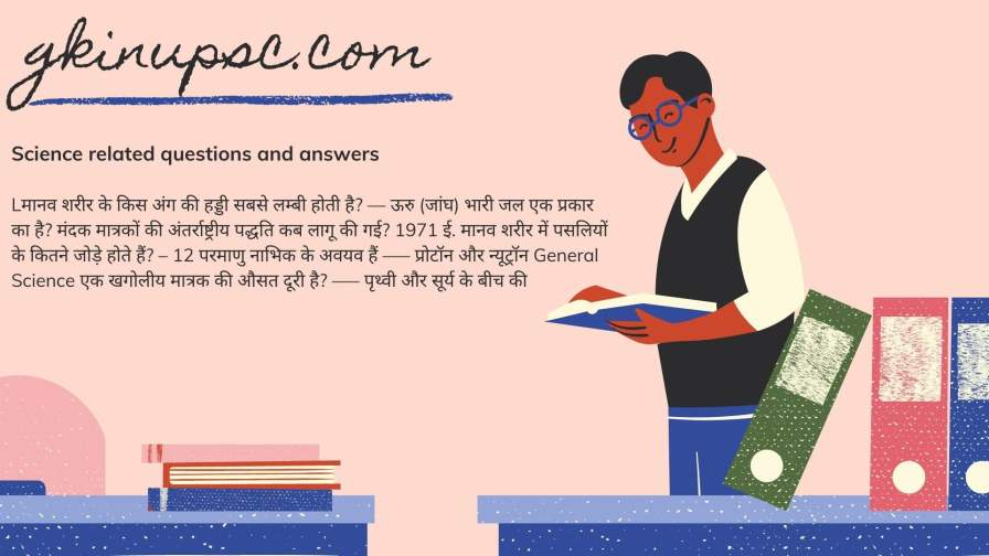 Science gk question answer