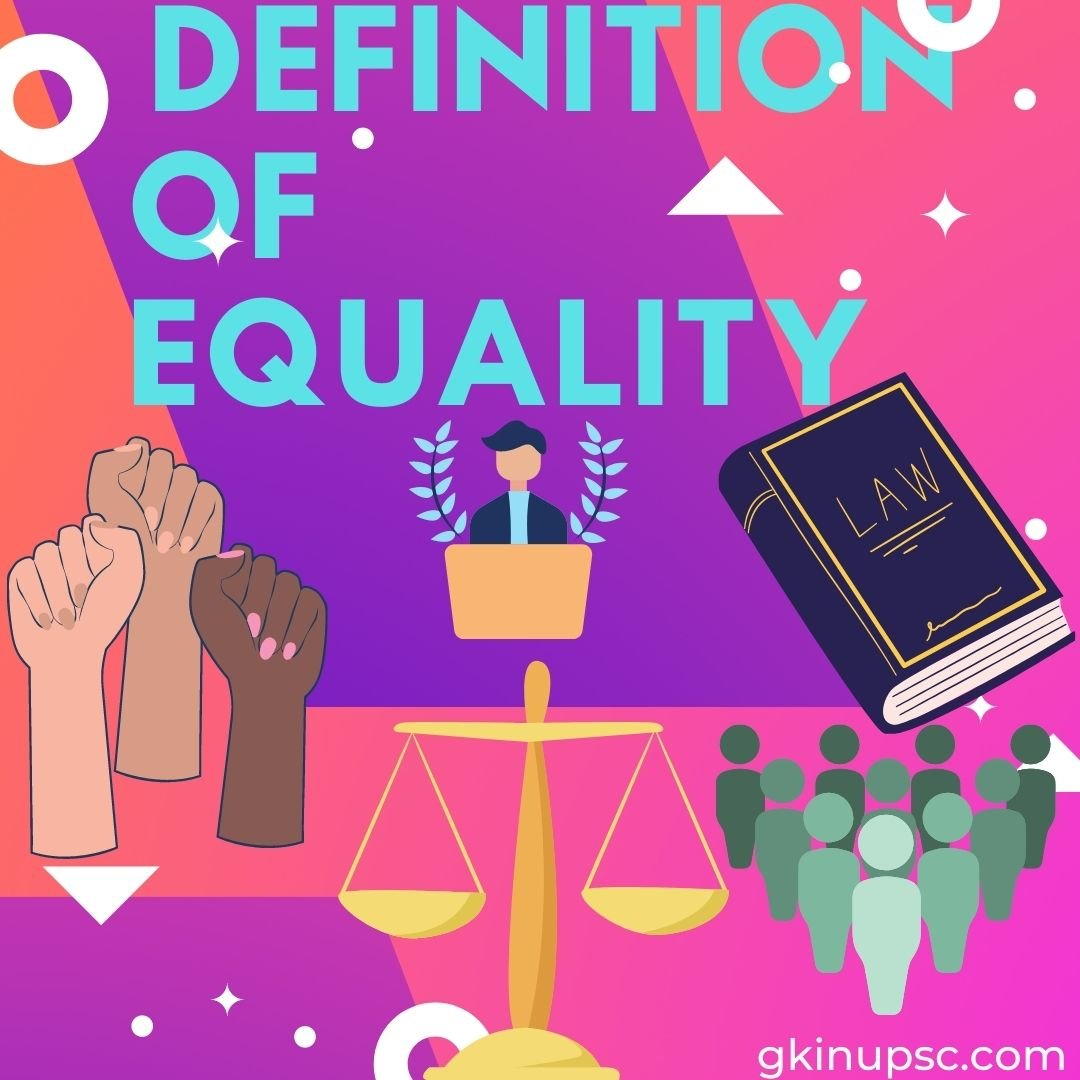 Definition of equality