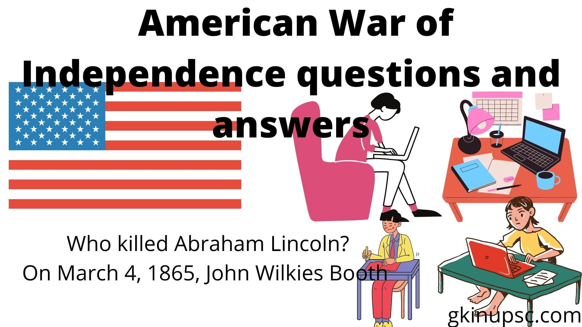 American War of Independence questions and answers