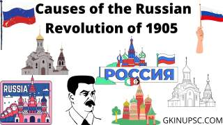 Causes of the Russian Revolution of 1905