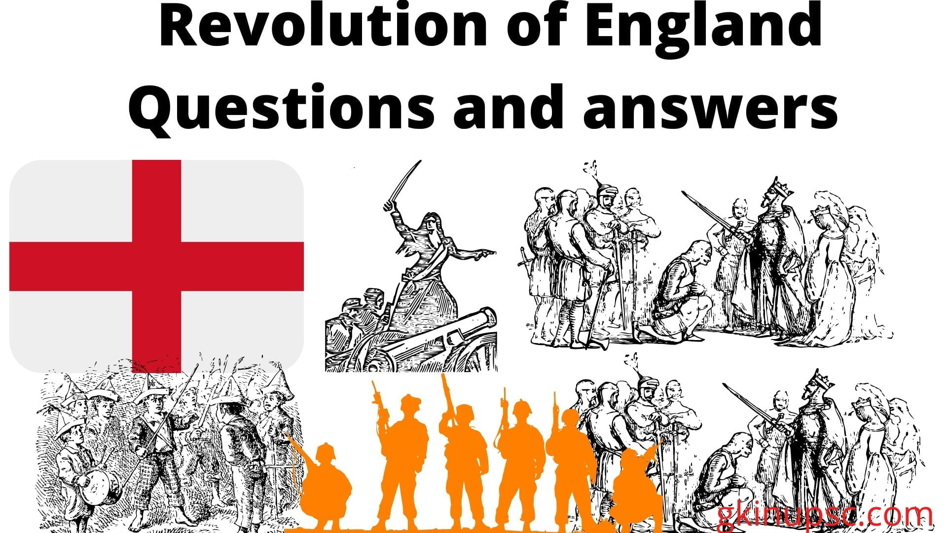 Revolution of England Questions and answers