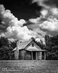 """""""Homestead"""", Canon 5D Mk3, 70-200mm f/2.8L Mk2, Singh-Ray Color Combo Polarizer, Galen Rowell 2-Stop hard edge ND Grad, Converted to B&W in Lightroom"""