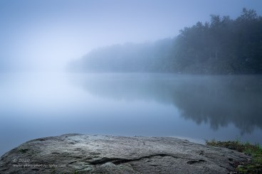 """""""A Cool Fog"""", Canon 5D Mk3, 24-70mm f/2.8L Mk 2, Singh-Ray Color Combo Polarizer, Galen Rowell 2-stop hard ND Grad"""