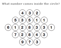 Number puzzles question 1