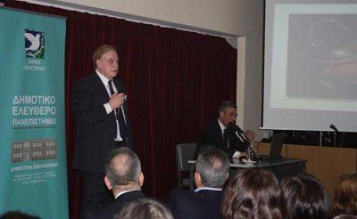 Ομιλία Αγγειοχειρουργού κ. Γ. Κούστα
