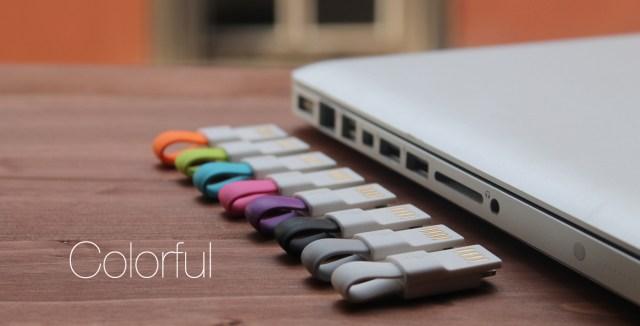 colorido-incharge-mini-cabo-usb-blog-geek-publicitario