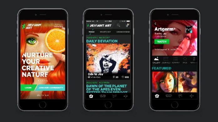 deviantart-dispositivos-moveis-android-ios-app-blog-geek-publicitario