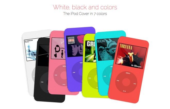 Essas versões coloridas são a cara da Apple...