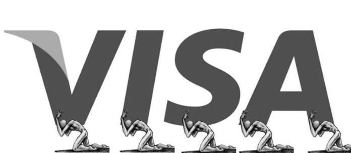 Anti-logo VISA
