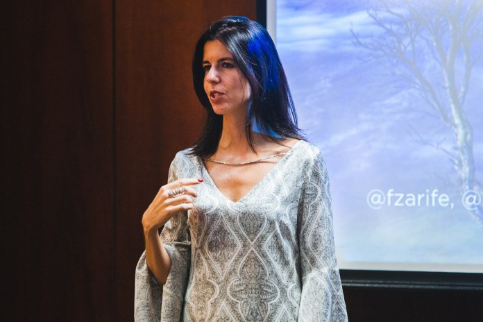 Fiamma Zarife, diretoria de agências do Twitter Brasil.
