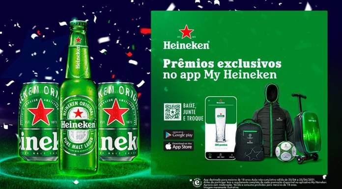 Foto de divulgação para o lançamento do My Heineken.