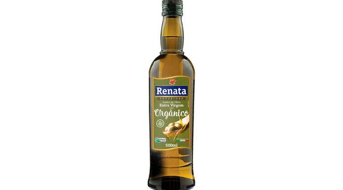 Azeite da linha orgânica da Renata.