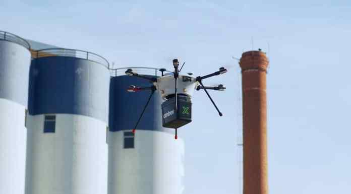 Ambev delivery drones