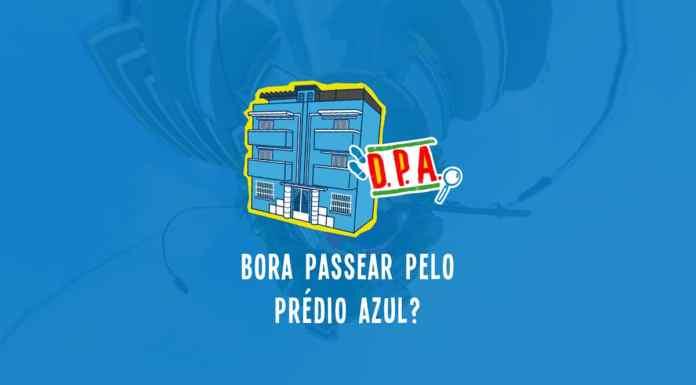Gloob tour virtual pelo Prédio Azul de DPA