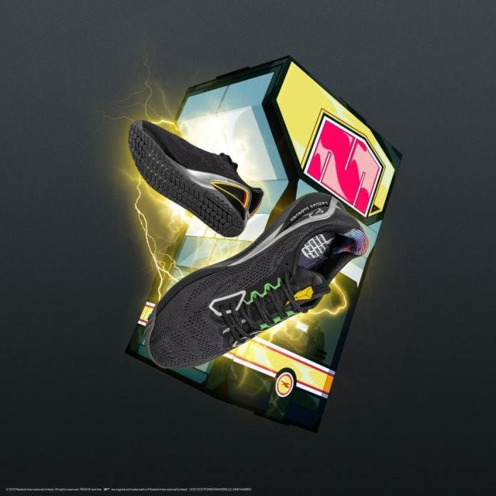 Coleção Reebok Power Rangers Tênis Preto