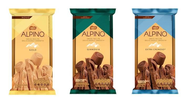 Novo design identidade visual de Alpino.