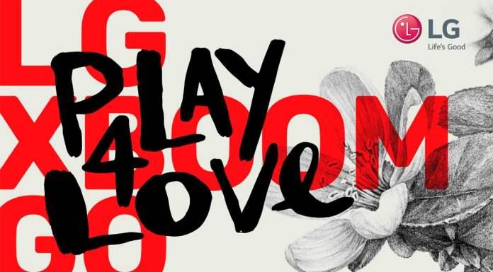 Foto de divulgação da ação de Dia dos Namorados da LG.