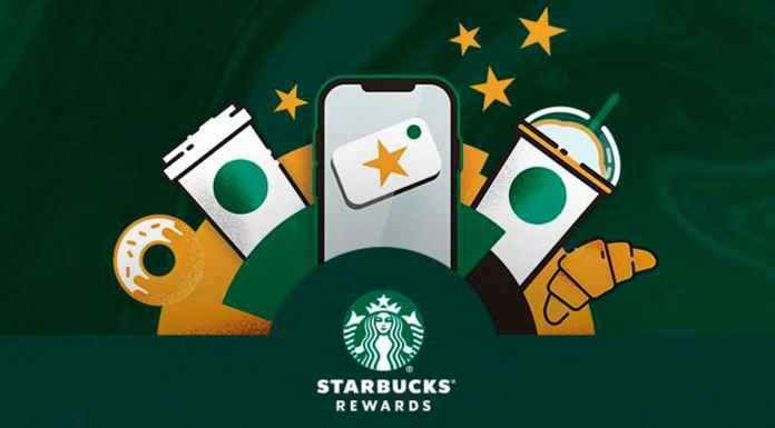 Novo Starbucks Rewards, programa de fidelidade da cafeteria.