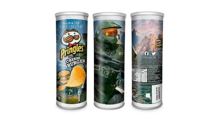 Pringles Halo Infinite.