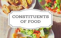 Constituents of Food