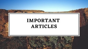 articles - List Of 35 Important Articles of the Constitution