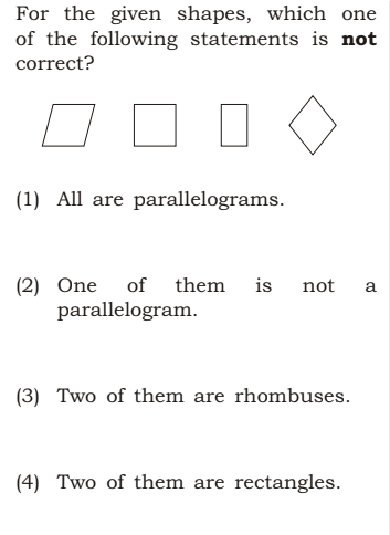 shapes ctet 2018 - CTET December 2018 Question Paper with Answers