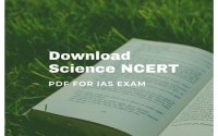 NCERT Science Books For IAS, SSC Exam