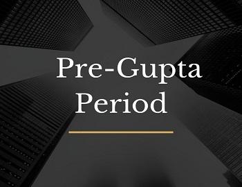 Pre Gupta Period gk - Pre-Gupta Period