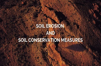 Soil Erosion Soil Conservation Measures - Soil Erosion & Soil Conservation Measures