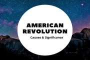 American Revolution or American War of Independence