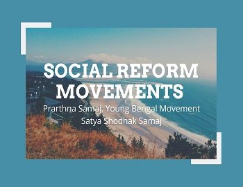 social reform gk - Other Social Reform Movements