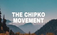 The Chipko Movement
