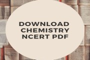 Download NCERT Chemistry Books For Competitive Exam