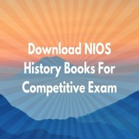 Download NIOS History Books For Competitive Exam