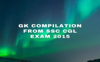 GK Compilation From SSC CGL Exam 2015