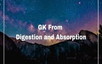 GK From Digestion and Absorption