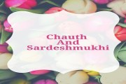 Chauth And Sardeshmukhi