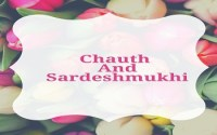 Chauth And Sardeshmukhi
