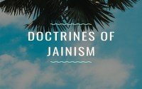Doctrines Of Jainism